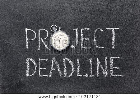Project Deadline