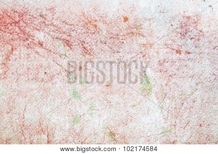Orange With White Plywood Board Background