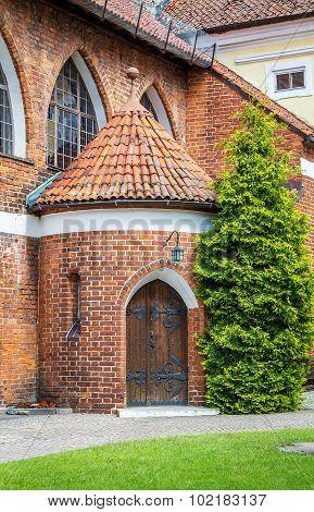 Olsztyn Castle, vintage door