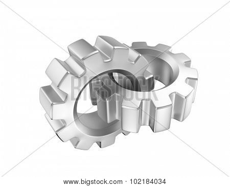 Chained gears