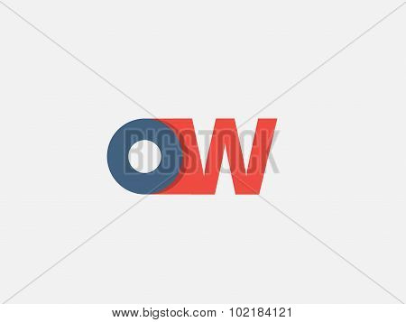 Letter W, Logo Icon Design Template. Vector Business Elements.