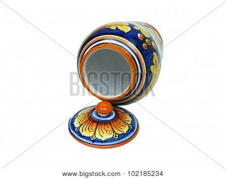 Oriental Jar (open Front)