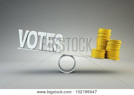 Money buys votes