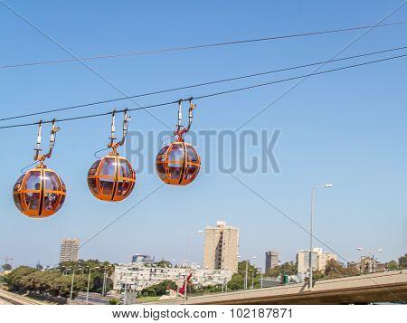 Haifa Cable Cars, city
