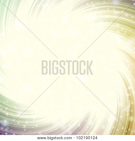 Cosmic Light Yellow Swirl Pattern Texture Background