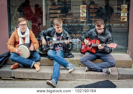 Street Music Day In Vilnius
