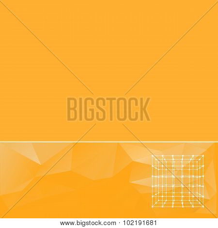 abstract background in yellow tones. Creative concept vector background