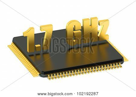 Cpu Chip For Smatphone And Tablet 1.7 Ghz Frequency