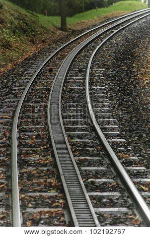 Rural Train Tracks