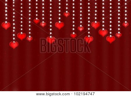 Valentine day love beautiful background.