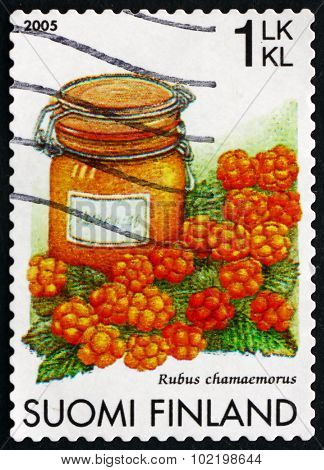 Postage Stamp Finland 2005 Cloudberries