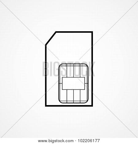 sim card symbol