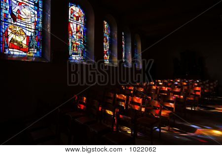 Stained Glass Interior