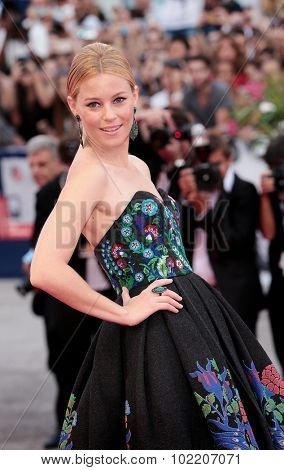 Elizabeth Banks at the premiere of Black Mess at the 2015 Venice Film Festival. September 4, 2015  Venice, Italy