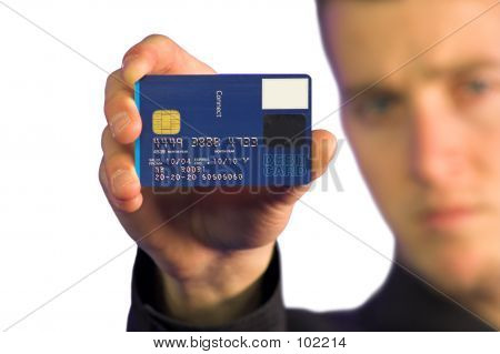 Business Man - Credit Card