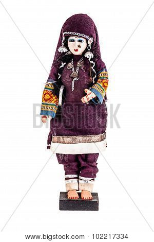 Isolated Doll