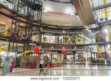 Interior Of The Arenas Mall