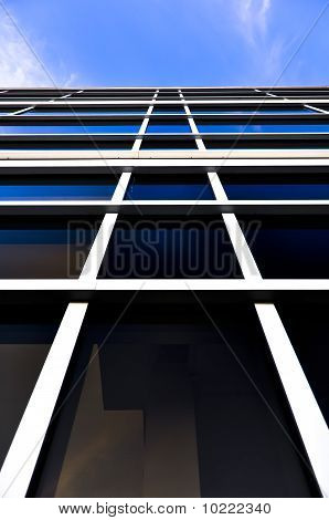 Building with Blue Sky