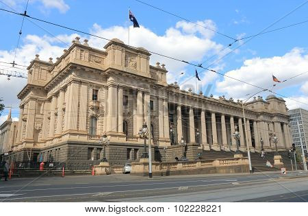Historical Architecture Parliament of Victoria Melbourne