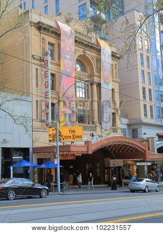 Theater Melbourne Australia