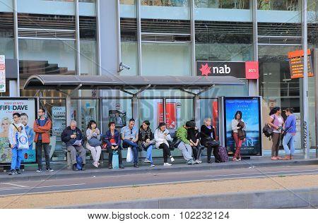 Public trasport Melbourne Australia