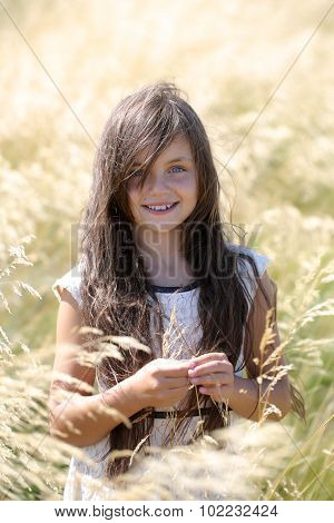 Girl In Spikelet