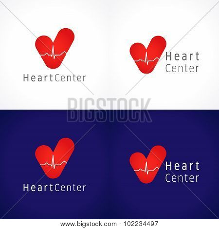 Heart center logo