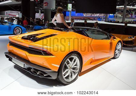 2016 Lamborghini Huracan Lp610-4 Spyder