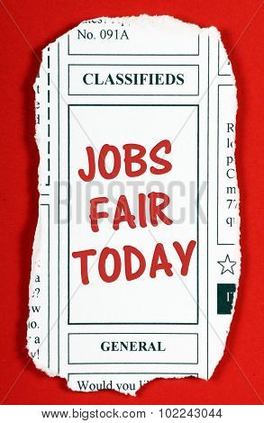Jobs Fair Today