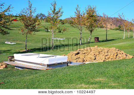 Grave Casket