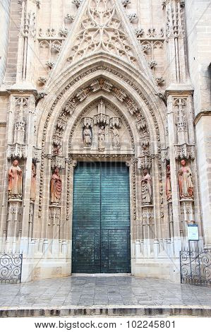 Seville Cathedral Door