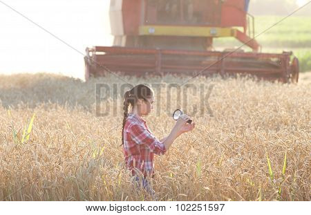 Agronomist In The Field