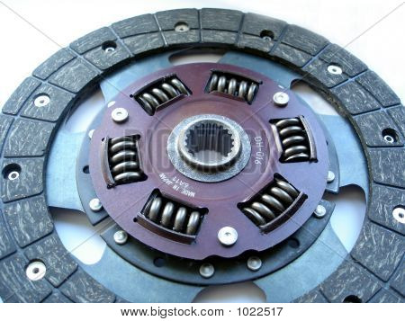 Clutch Disc Close-Up