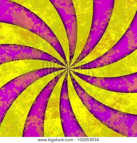 Swirl Marble Yellow Purple Sunny Pattern Texture