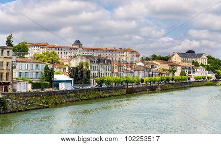 Saintes, A Town On The Banks Of The Charente River - France