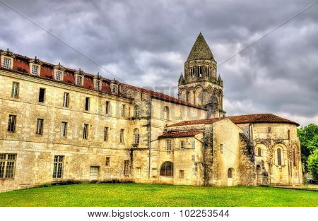 The Abbey Of Sainte-marie-des-dames In Saintes - France