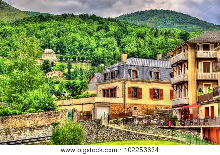 View Of Ax-les-thermes Town - France, Midi-pyrenees