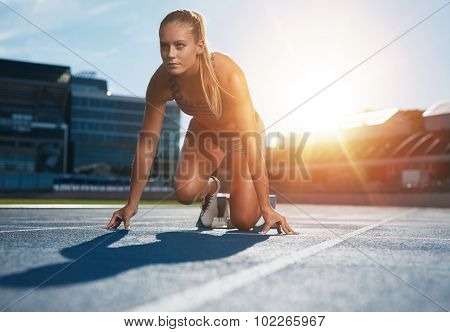 Running With Determination