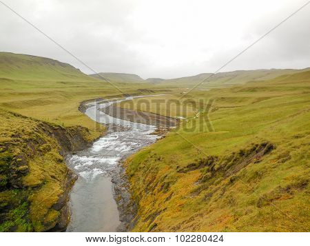 Natural Scenery In Iceland