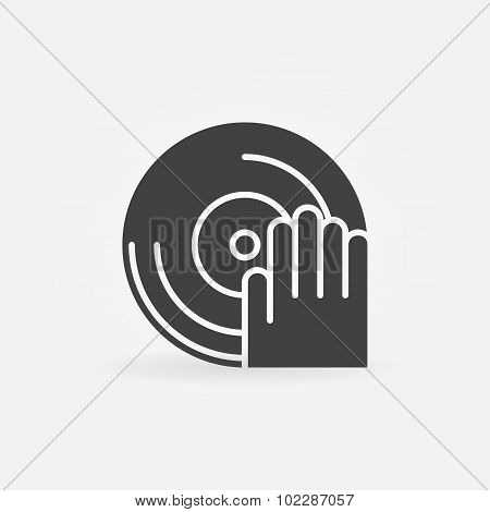 DJ icon or logo