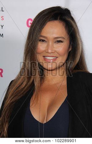 LOS ANGELES - SEP 19:  Tia Carrere at the 4th Annual Women Making History Brunch at the Skiirball Cultural Center on September 19, 2015 in Los Angeles, CA