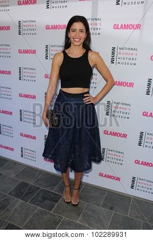 Kym JohnsonLOS ANGELES - SEP 19:  Mercedes Masohn at the 4th Annual Women Making History Brunch at the Skiirball Cultural Center on September 19, 2015 in Los Angeles, CA