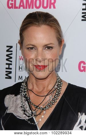 LOS ANGELES - SEP 19:  Maria Bello at the 4th Annual Women Making History Brunch at the Skiirball Cultural Center on September 19, 2015 in Los Angeles, CA