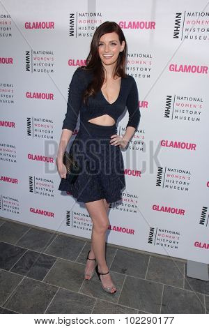 Kym JohnsonLOS ANGELES - SEP 19:  Lydia Hearst at the 4th Annual Women Making History Brunch at the Skiirball Cultural Center on September 19, 2015 in Los Angeles, CA