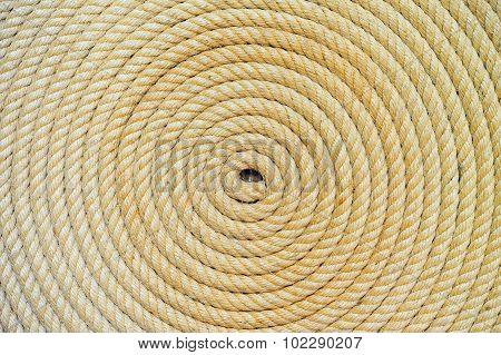 Rope Folded Helix Background