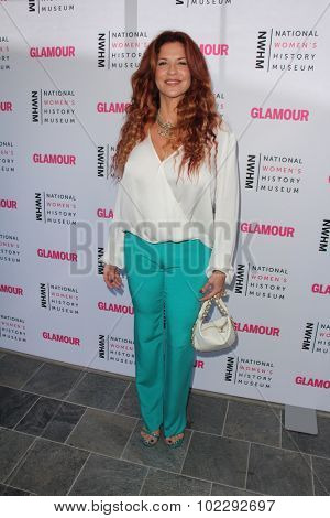 LOS ANGELES - SEP 19:  Perla Ferrar at the 4th Annual Women Making History Brunch at the Skiirball Cultural Center on September 19, 2015 in Los Angeles, CA