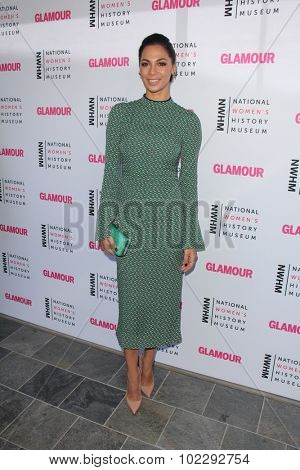 LOS ANGELES - SEP 19:  Moran Atias at the 4th Annual Women Making History Brunch at the Skiirball Cultural Center on September 19, 2015 in Los Angeles, CA