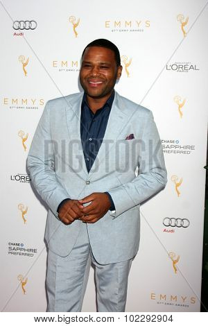 LOS ANGELES - SEP 19:  Anthony Anderson at the 67th Emmy Awards Performers Nominee Reception at the Pacific Design Center on September 19, 2015 in West Hollywood, CA