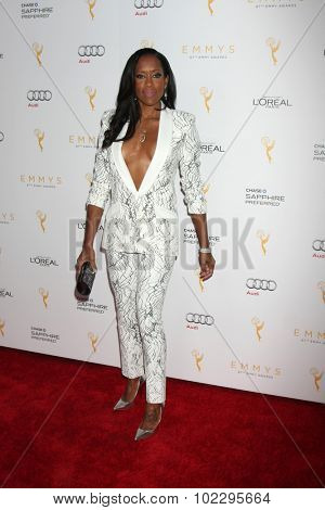LOS ANGELES - SEP 19:  Regina King at the 67th Emmy Awards Performers Nominee Reception at the Pacific Design Center on September 19, 2015 in West Hollywood, CA