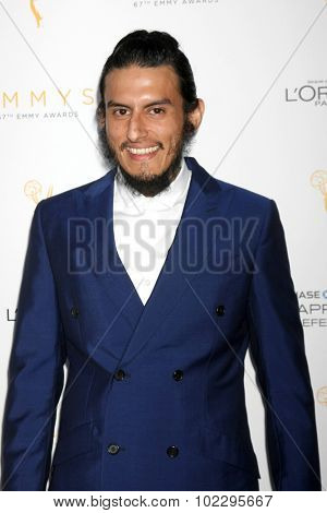 LOS ANGELES - SEP 19:  Richard Cabral at the 67th Emmy Awards Performers Nominee Reception at the Pacific Design Center on September 19, 2015 in West Hollywood, CA